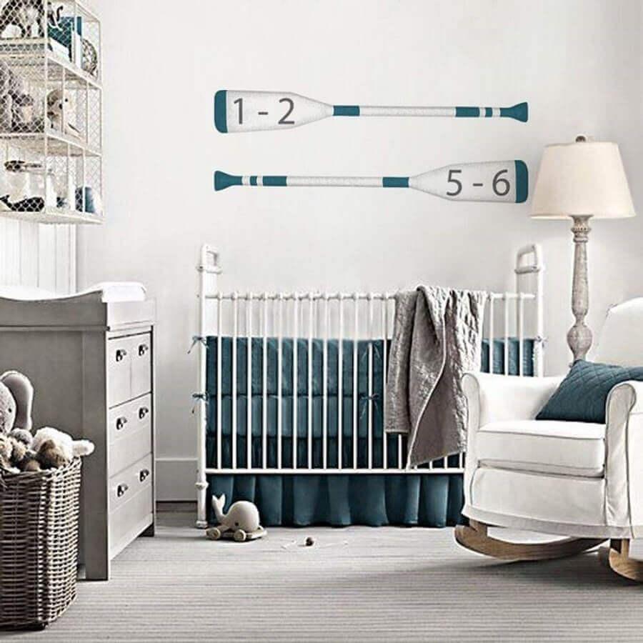 adesivos para quarto de bebê branco e verde Foto Pinosy