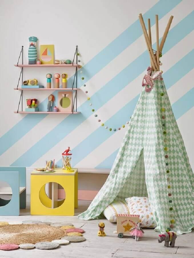 adesivos para quarto de bebê com decoração estilo montessoriano Foto Minty Inspirations