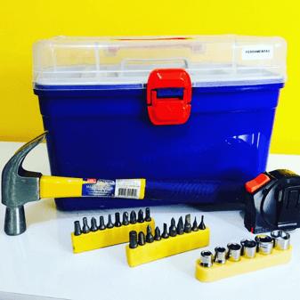 caixa organizadora para ferramentas