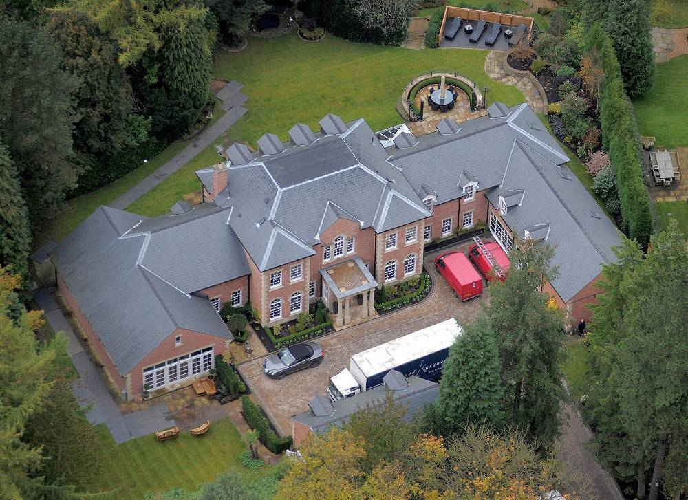 casa de jogadores - Wayne Rooney fachada