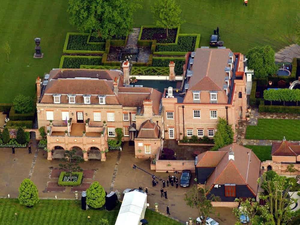 casa dos jogadores - David Beckham