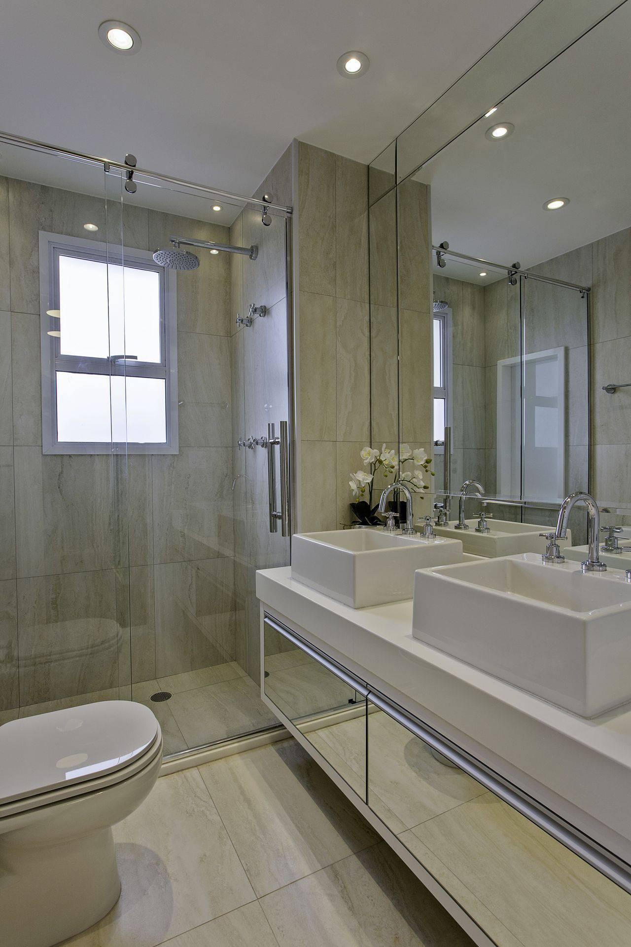 Chuveiro Dicas e Informações Importantes para Você Escolher o Seu -> Banheiro Decorado Granito