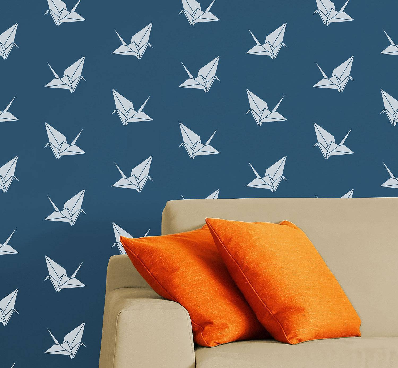 decoração com stencil