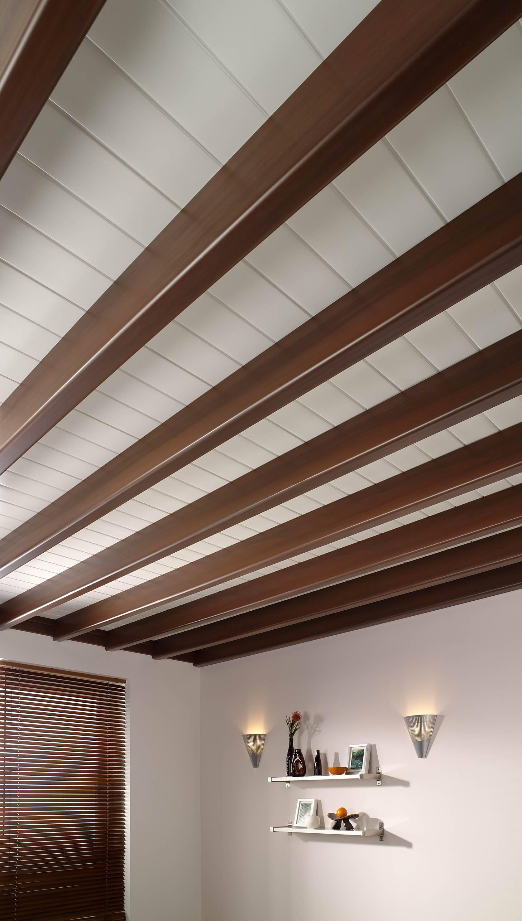 forro de pvc com suporte de madeira