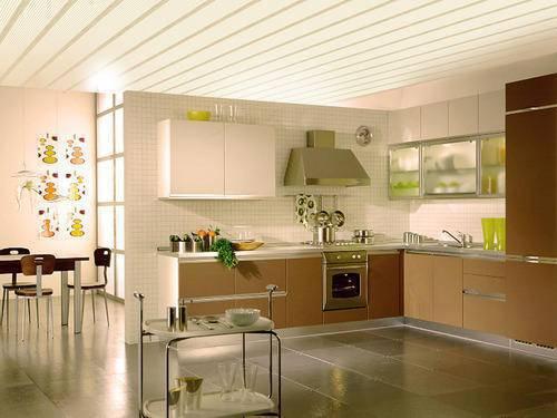 forro de pvc na cozinha