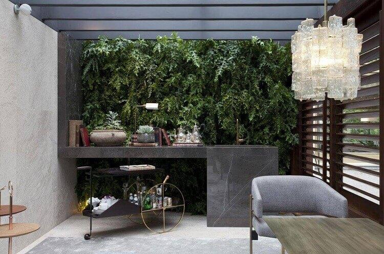 Como decorar com jardim vivo