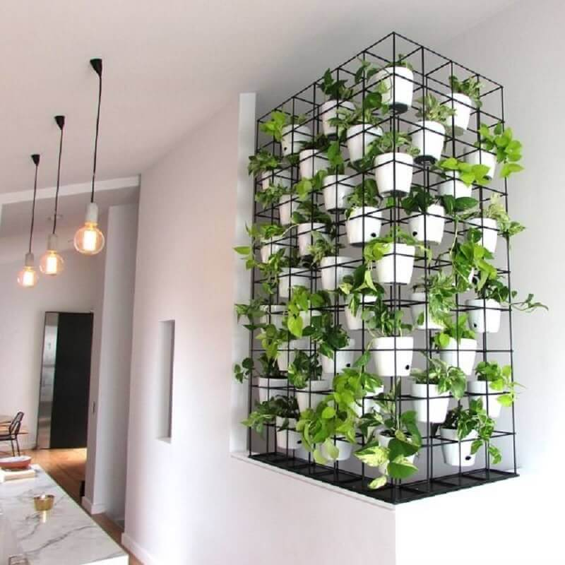 jardim vertical moderno