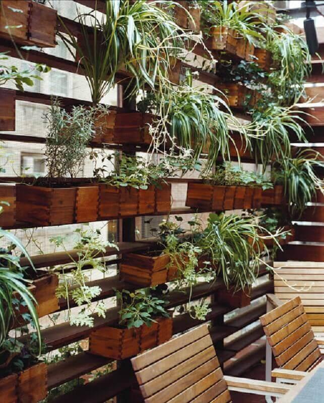 jardim vertical simples