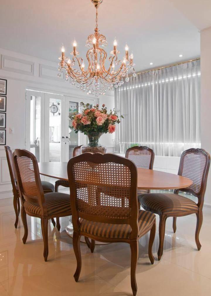 mesa de jantar hall arquitetura 22776