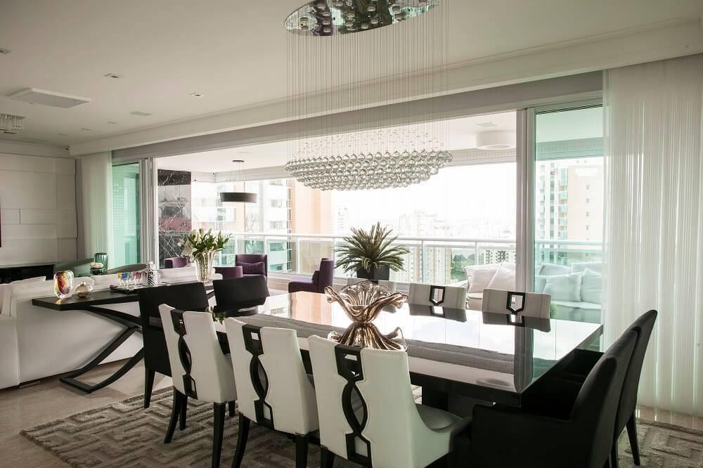 persianas para sala com varanda
