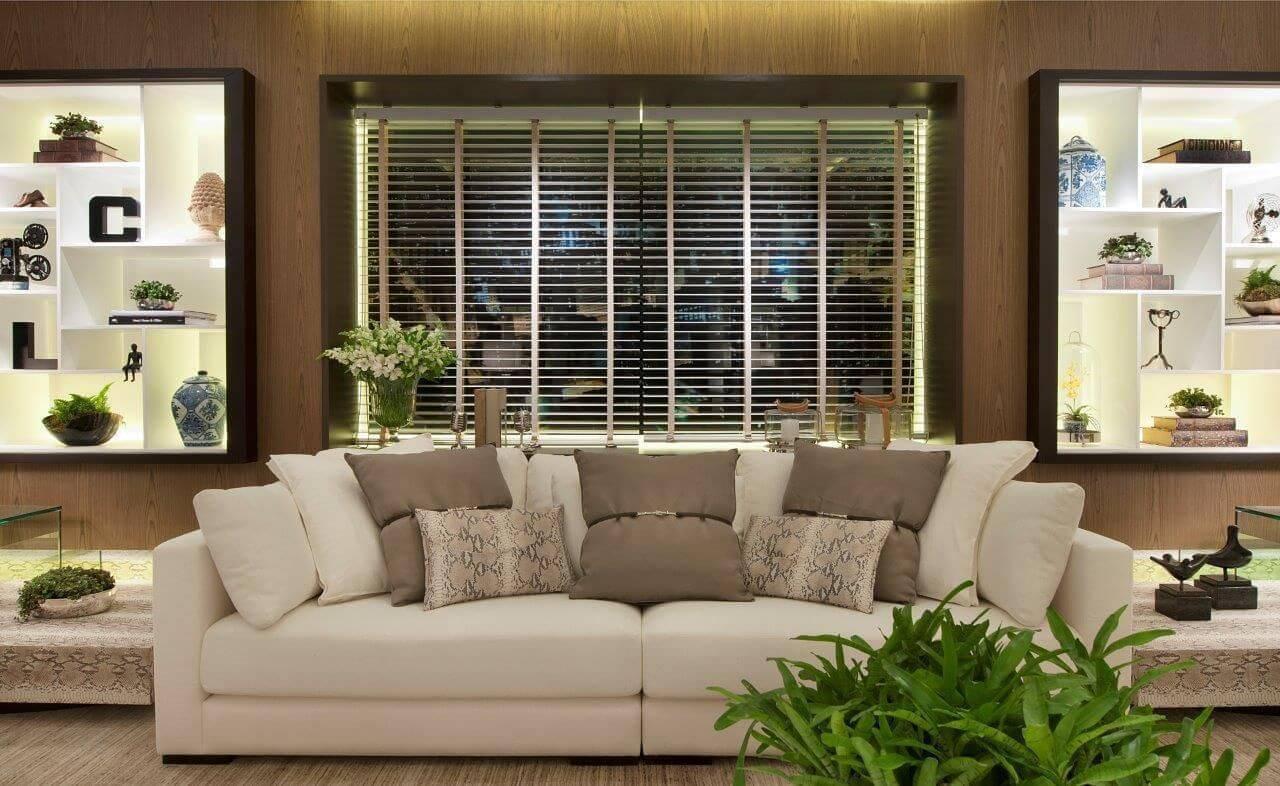 persianas para sala de estar quitete faria 41935