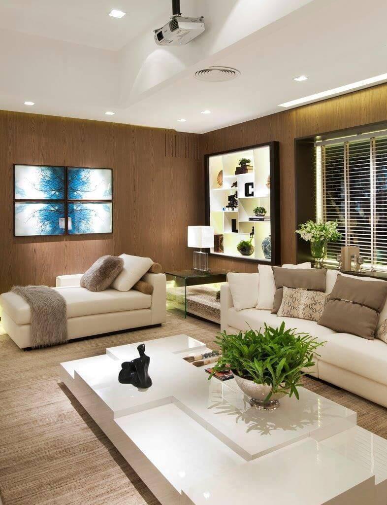 persianas para sala de estar quitete faria 41936