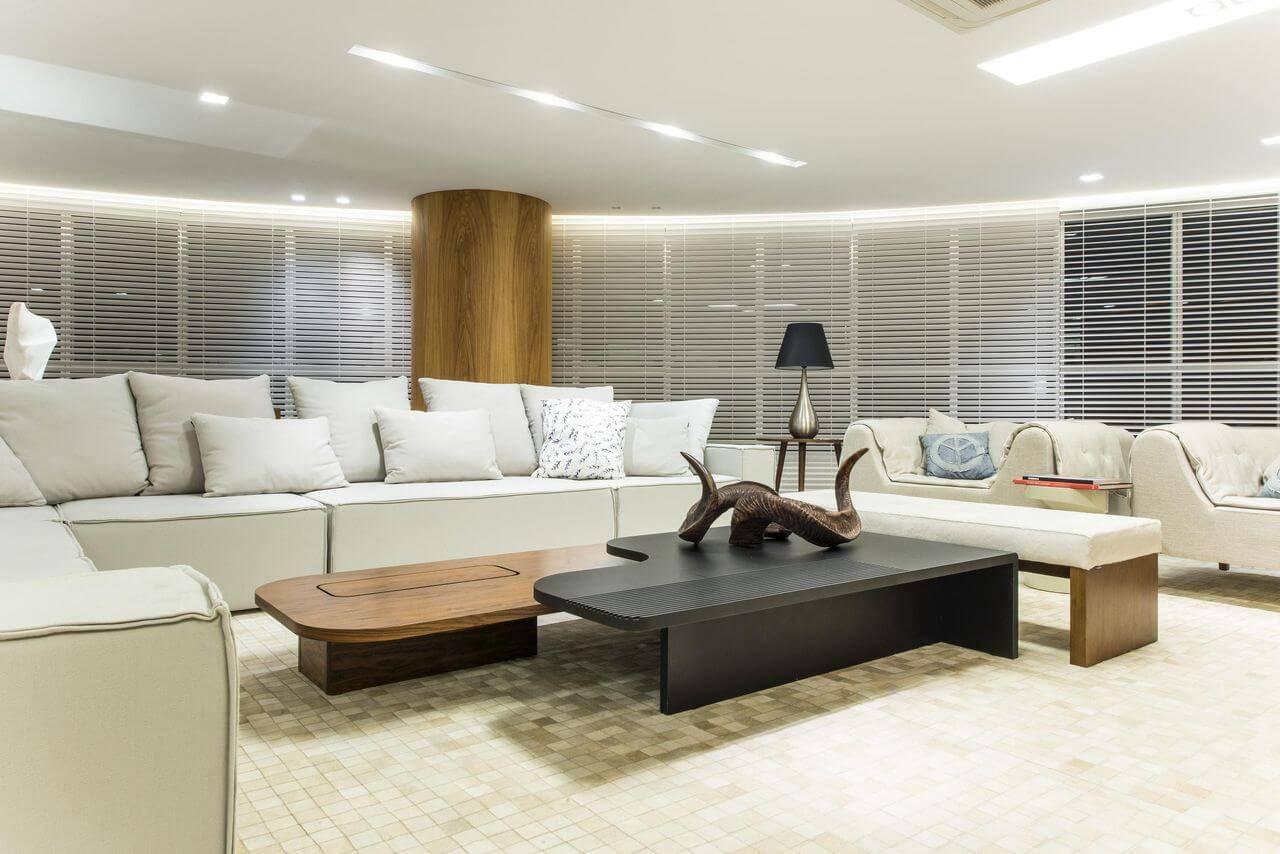 persianas para sala de estar renato teles arquitetura 110135