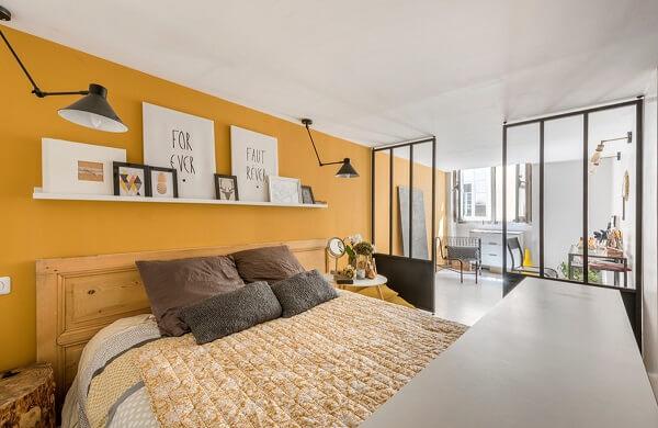 Cores para quartos de amarela