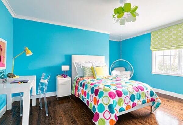 Cores para quartos de jovens