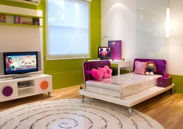 Cores para quartos infantis na cor verde