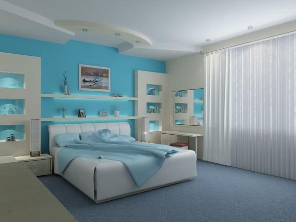 Cores para quartos na cor azul