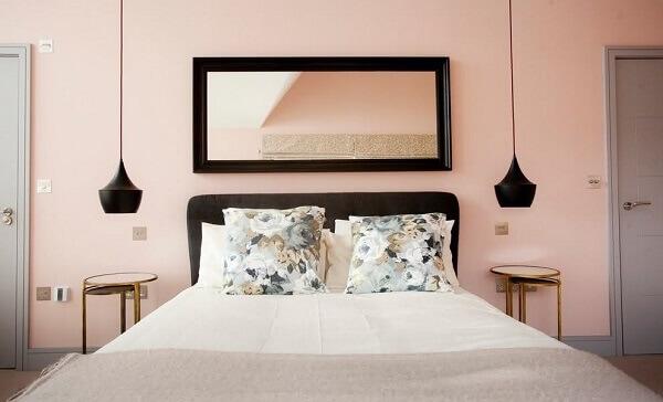 Cores para quartos na cor rosa