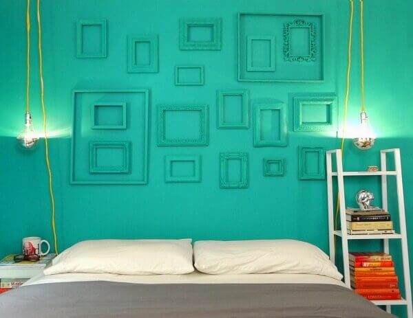 Cores para quartos verde
