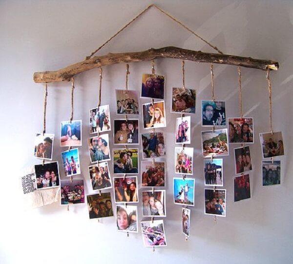 Crie um painel de fotos para decoração de dia dos namorados