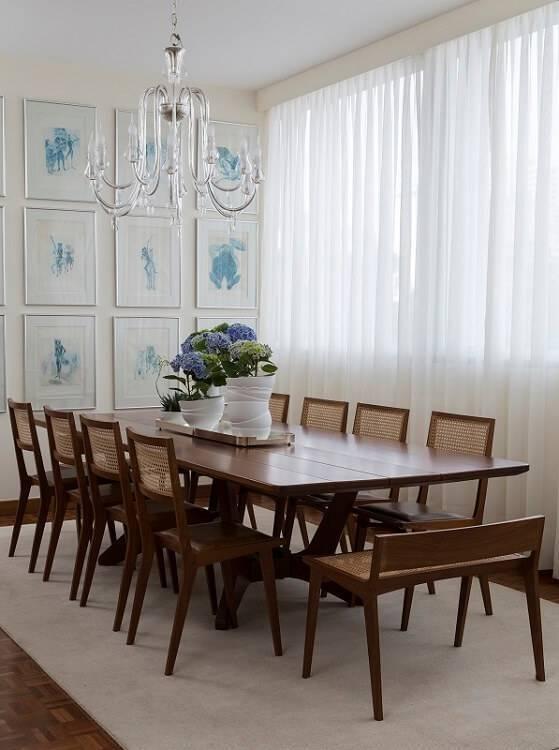 Diptico sala de jantar