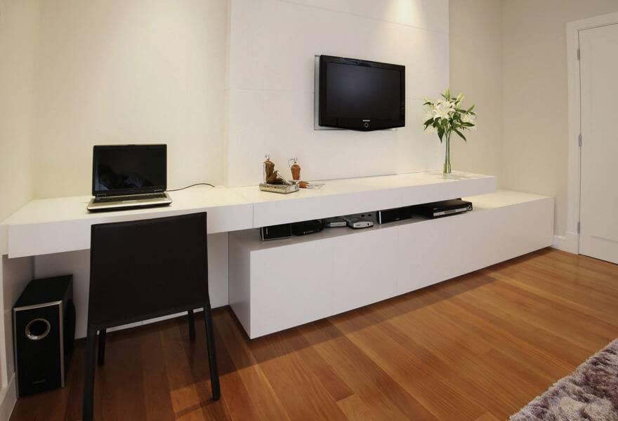 Escrivaninha home office branco