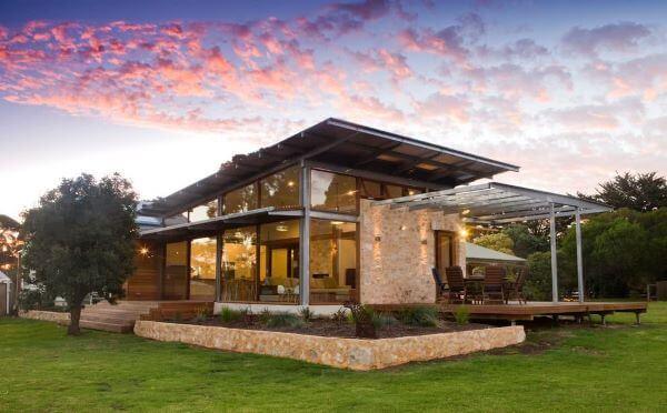 Projetos de casas de campo aconchegantes