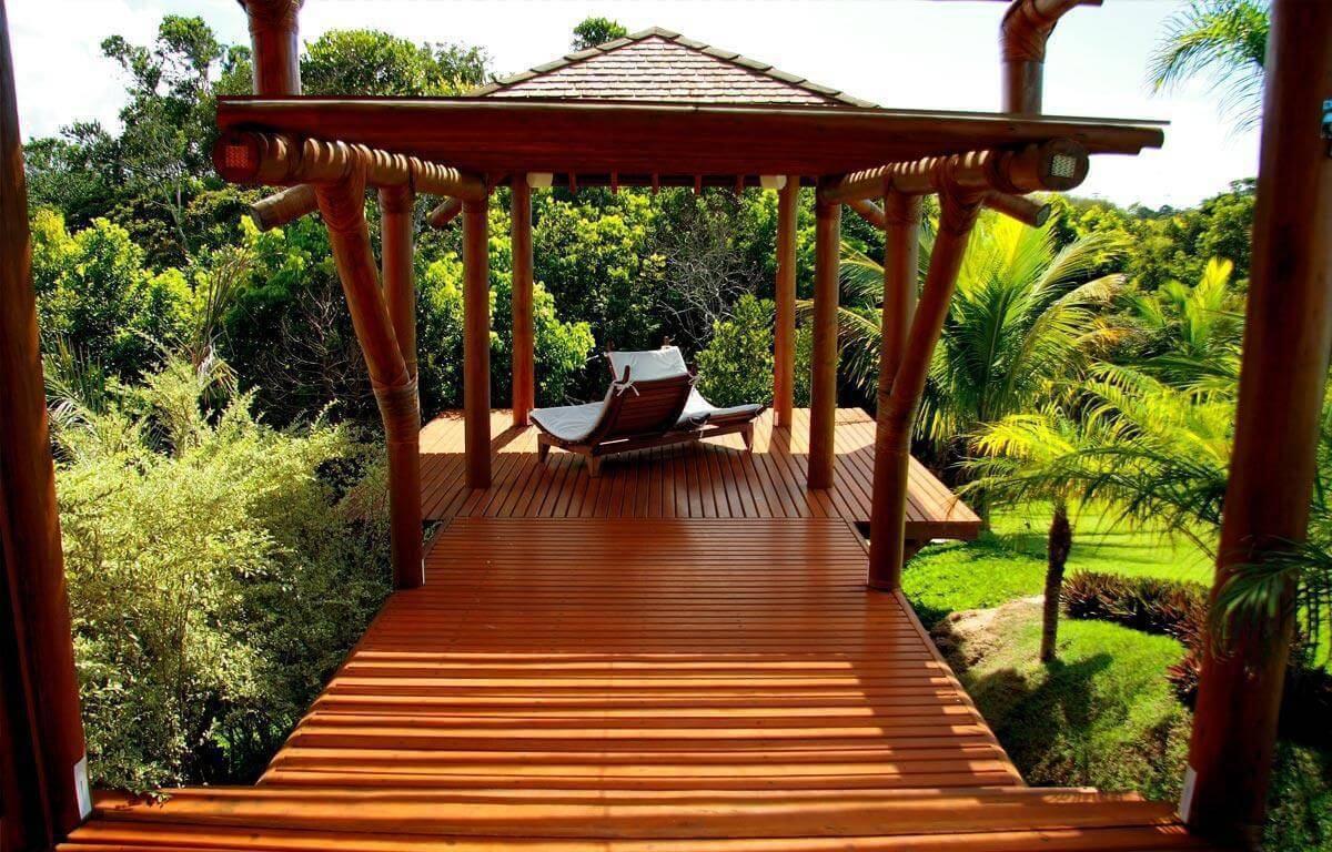 casas de campo deck de madeira sq arquitetos associados 65563