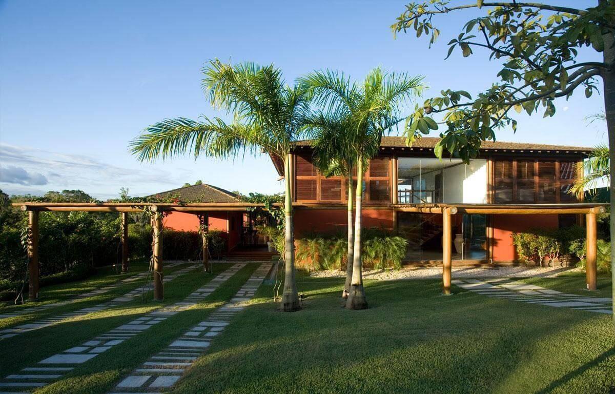 70 modelos de casas de campo para inspirar voc for Fotos de casas modernas brasileiras