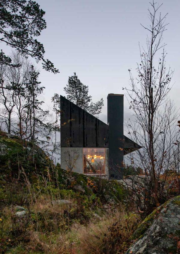 Casas de campo lindas e modernas