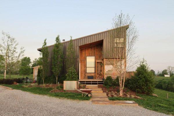 Casas de campo modernas e aconchegantes
