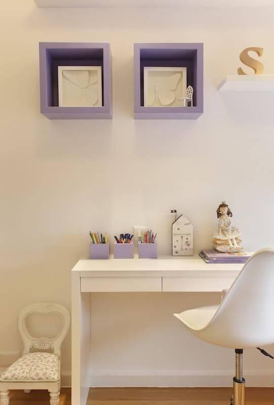 escrivaninha quarto de menina detalhes lilas rbp arquitetura 71912