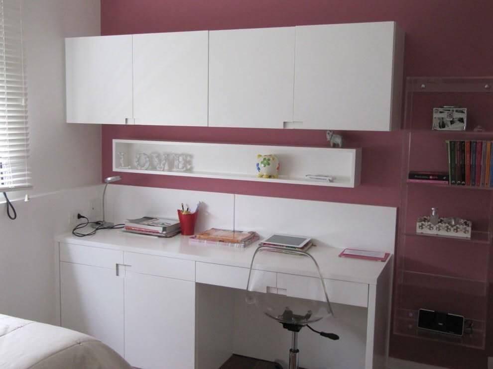 escrivaninha quarto de menina parede roxa carmem araujo bonamico 108743