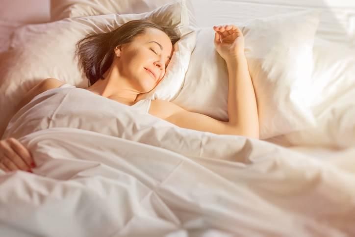 Casa dos sonhos - Mulher dormindo