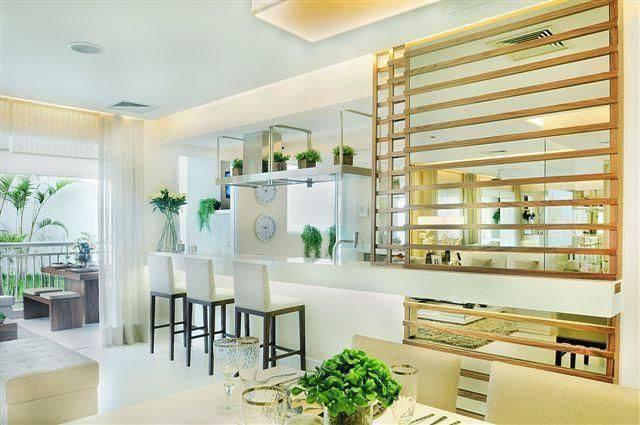 marmore cozinha americana com bancada quitete e farias 41943