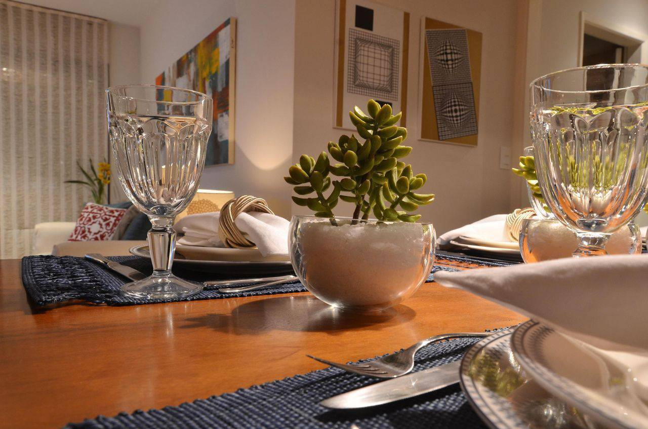 mesa de jantar com suculentas renata romeiro 78514