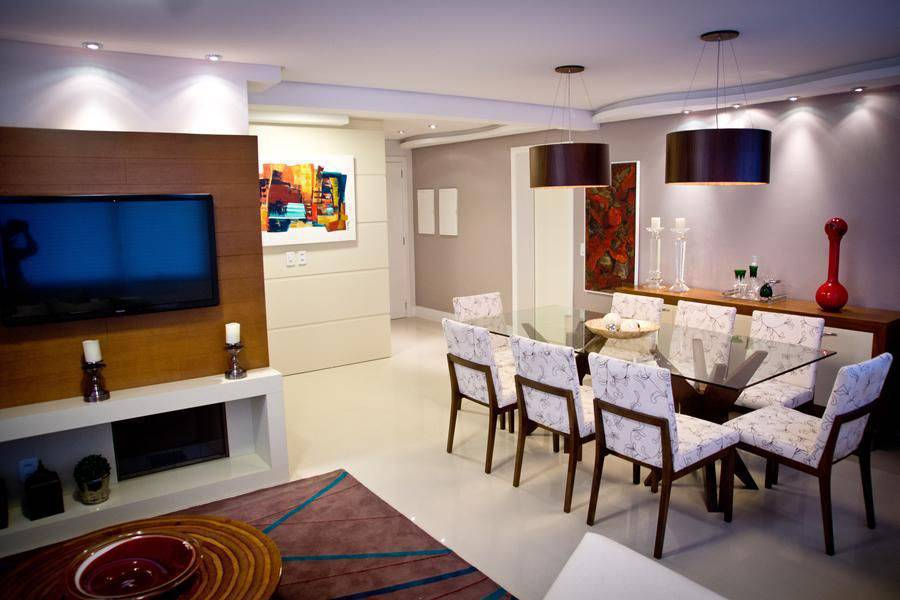 pendente duplo sala de jantar inova arquitetura 96614