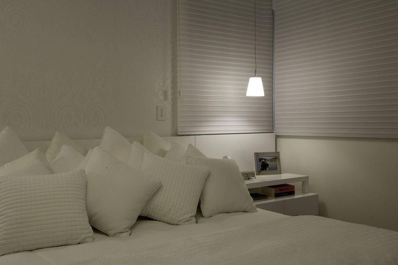 pendente pequeno quarto de casal branco guardini stancati 65147