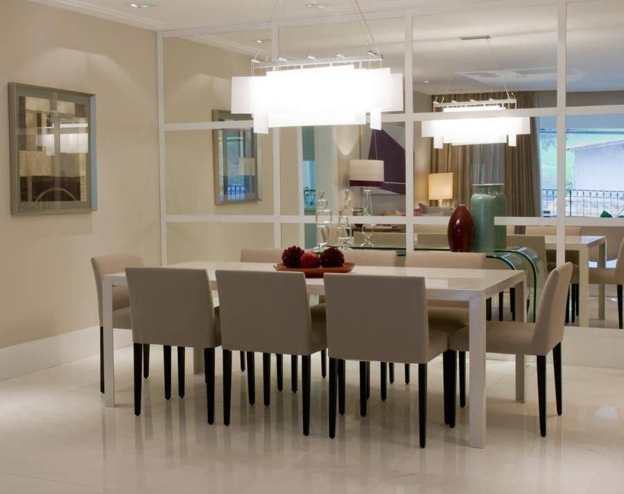 pendente retangular mesa de jantar com espelho marilia veiga 87875