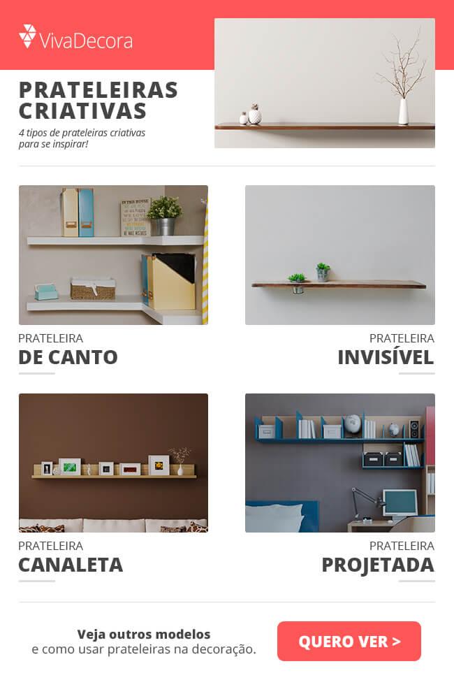 Infográfico Prateleiras Criativas