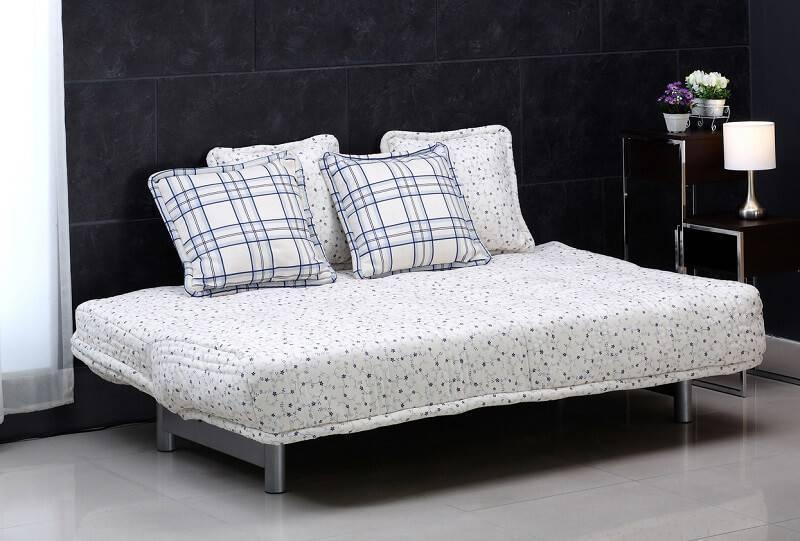 sofa cama aberto