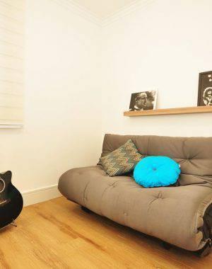 sofa-cama cinza condecorar 142492
