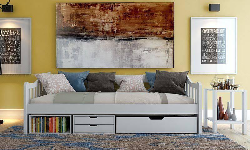 sofa-cama gavetas lojas kd 139247