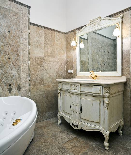 Banheiro de rico - Espelho