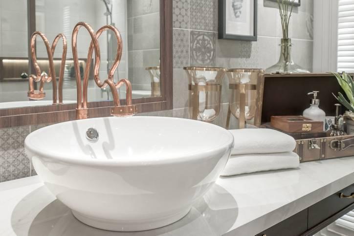 Banheiro de rico - torneira