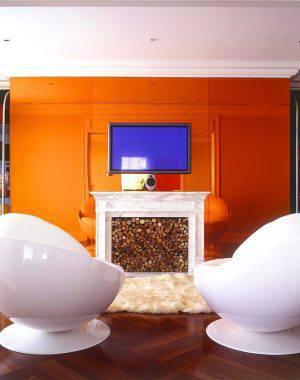 Casa do Amaury Júnior sala de tv