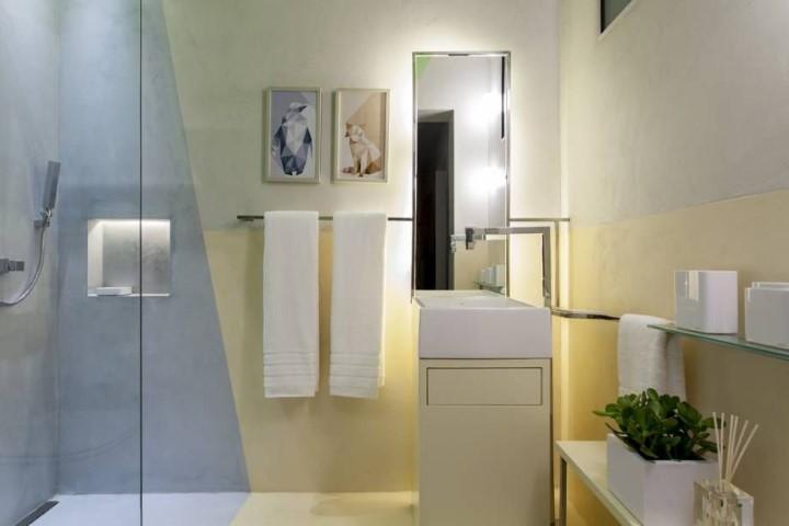 Espelho para banheiro iluminado Projeto de Casa Cor Bahia 2017