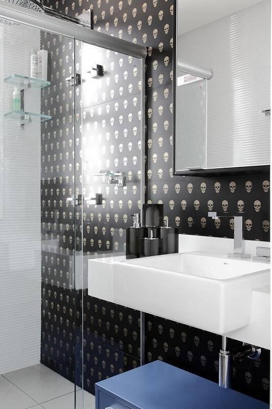 Papel de Parede no banheiro rodrigo fonseca 66585