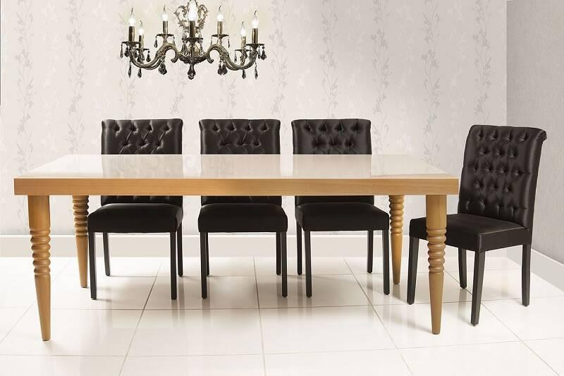 Papel de Parede sala de jantar mobiliario daf-134850