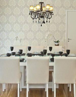 Papel de Parede sala jantar renata tolentino 13785